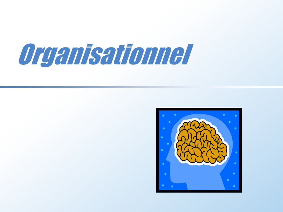 Organisationnel