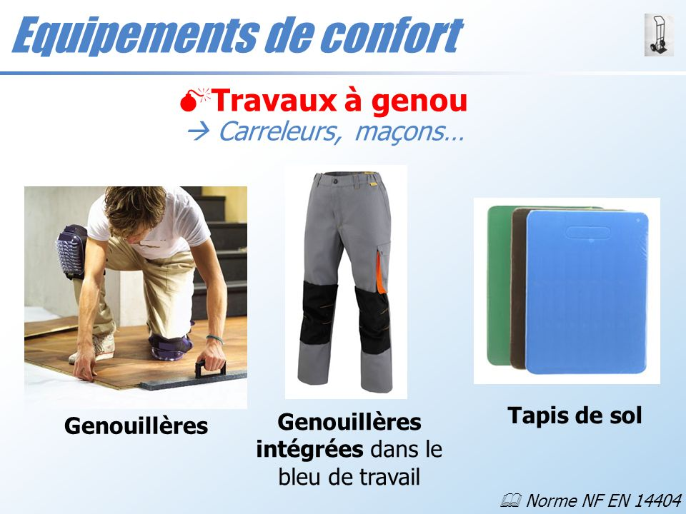 Equipements de confort