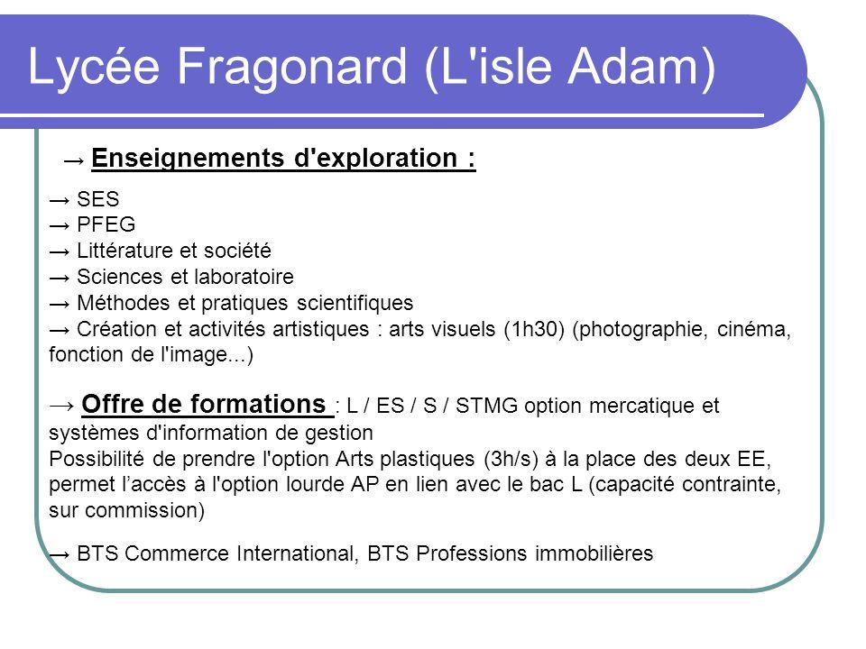 Lycée Fragonard (L isle Adam)