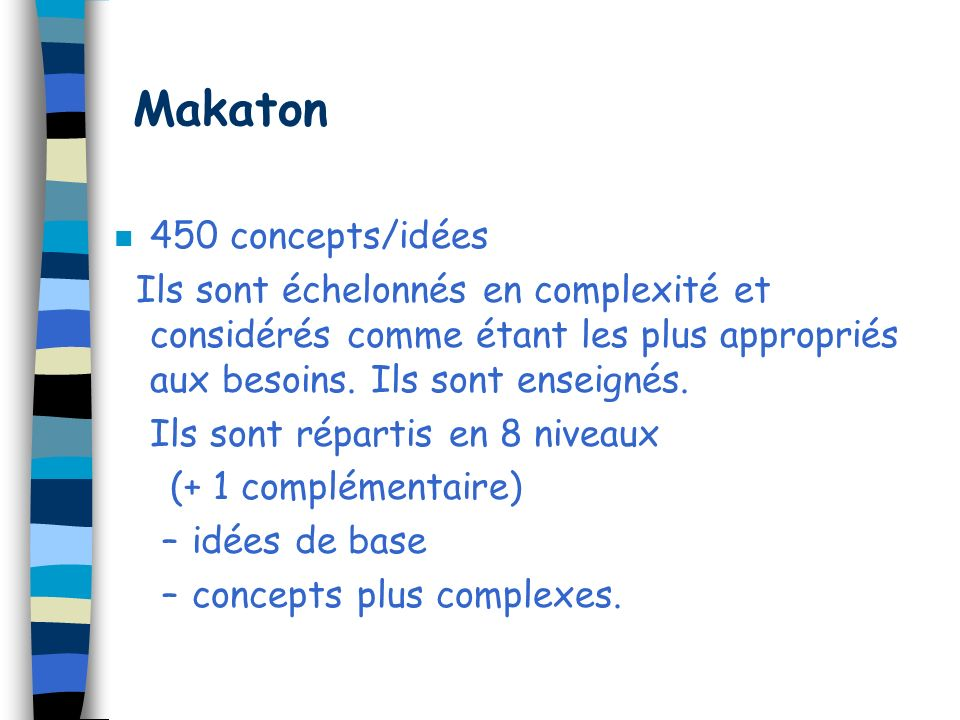 Makaton 450 concepts/idées
