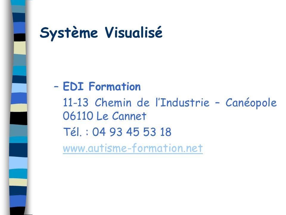 Système Visualisé EDI Formation