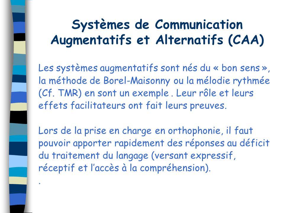 Systèmes de Communication Augmentatifs et Alternatifs (CAA)