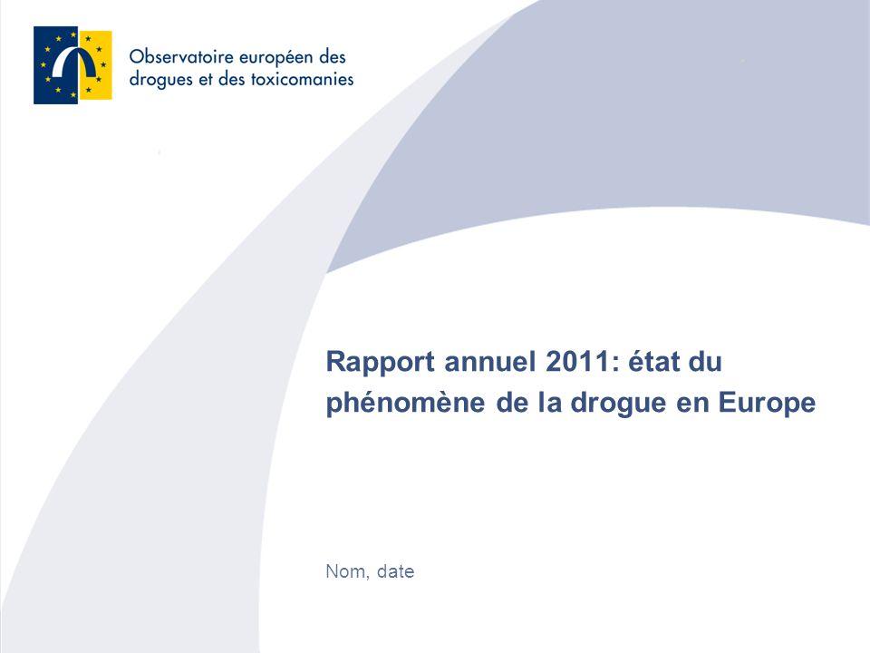 Rapport annuel 2011: état du phénomène de la drogue en Europe