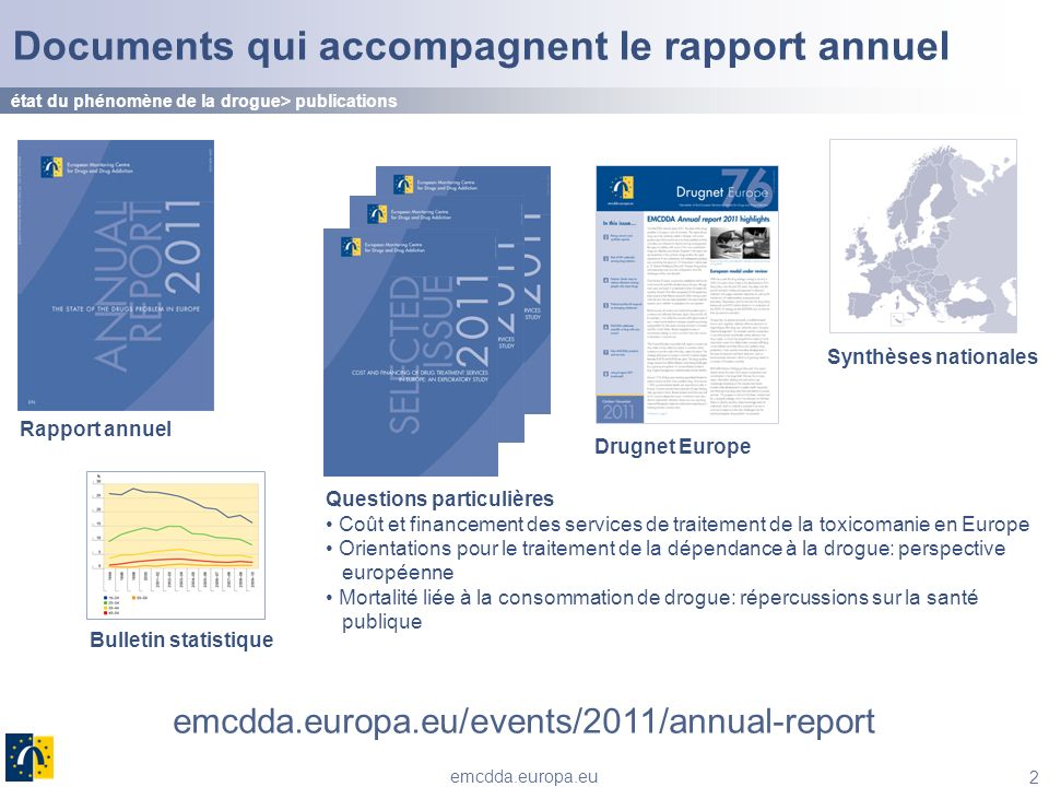 Documents qui accompagnent le rapport annuel