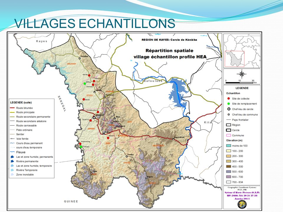 VILLAGES ECHANTILLONS