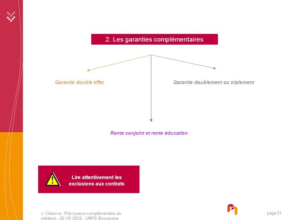 Garantie doublement ou triplement exclusions aux contrats