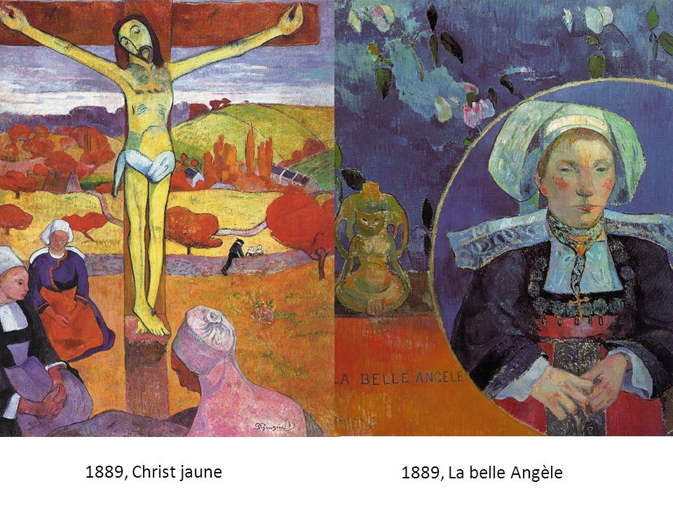 1889 1889, Christ jaune 1889, La belle Angèle