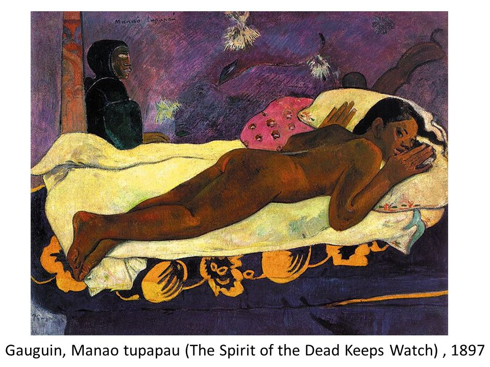 Gauguin, Manao tupapau (The Spirit of the Dead Keeps Watch) , 1897