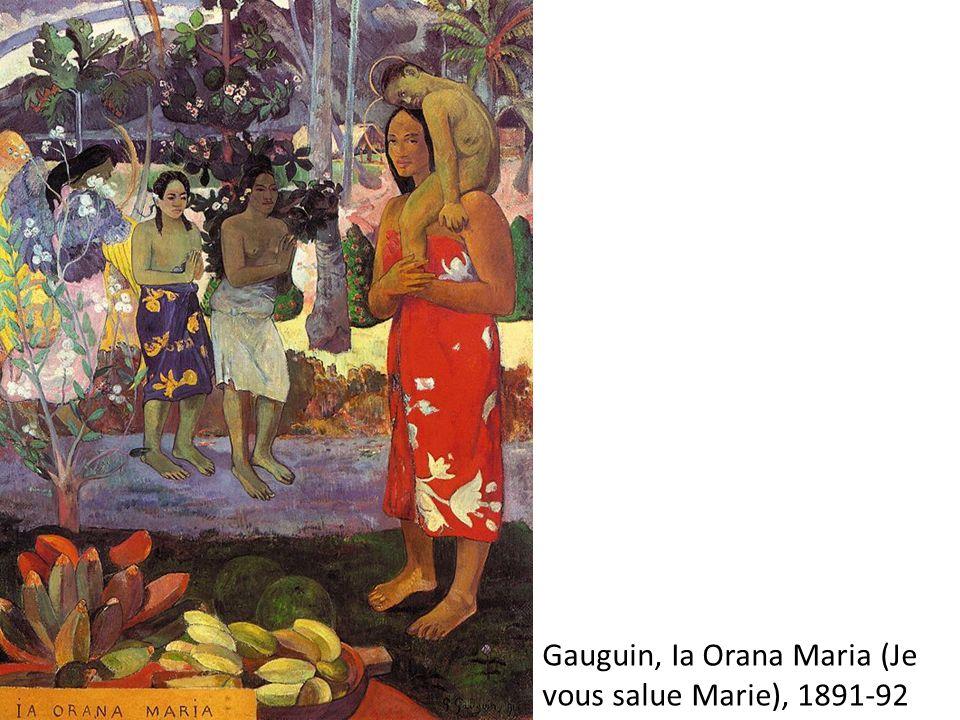 Gauguin, Ia Orana Maria (Je vous salue Marie), 1891-92