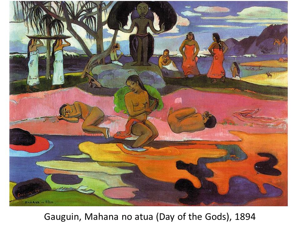 Gauguin, Mahana no atua (Day of the Gods), 1894