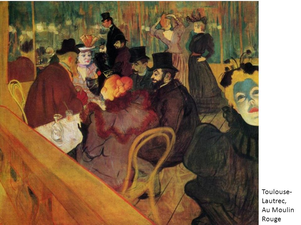 Toulouse-Lautrec, Au Moulin Rouge