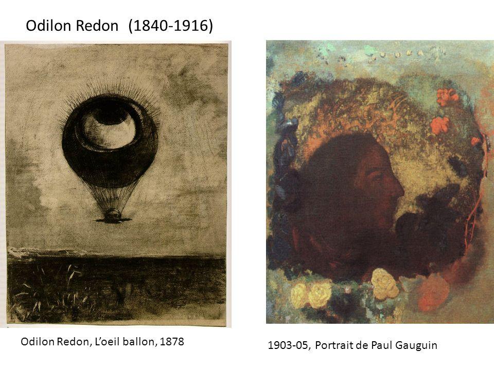 Odilon Redon (1840-1916) Odilon Redon, L'oeil ballon, 1878