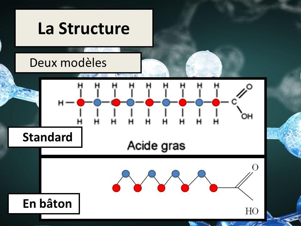 La Structure Deux modèles Standard En bâton
