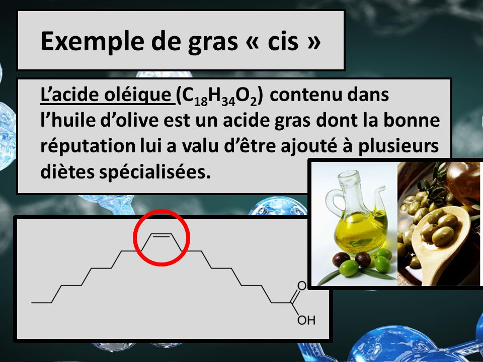 Exemple de gras « cis »