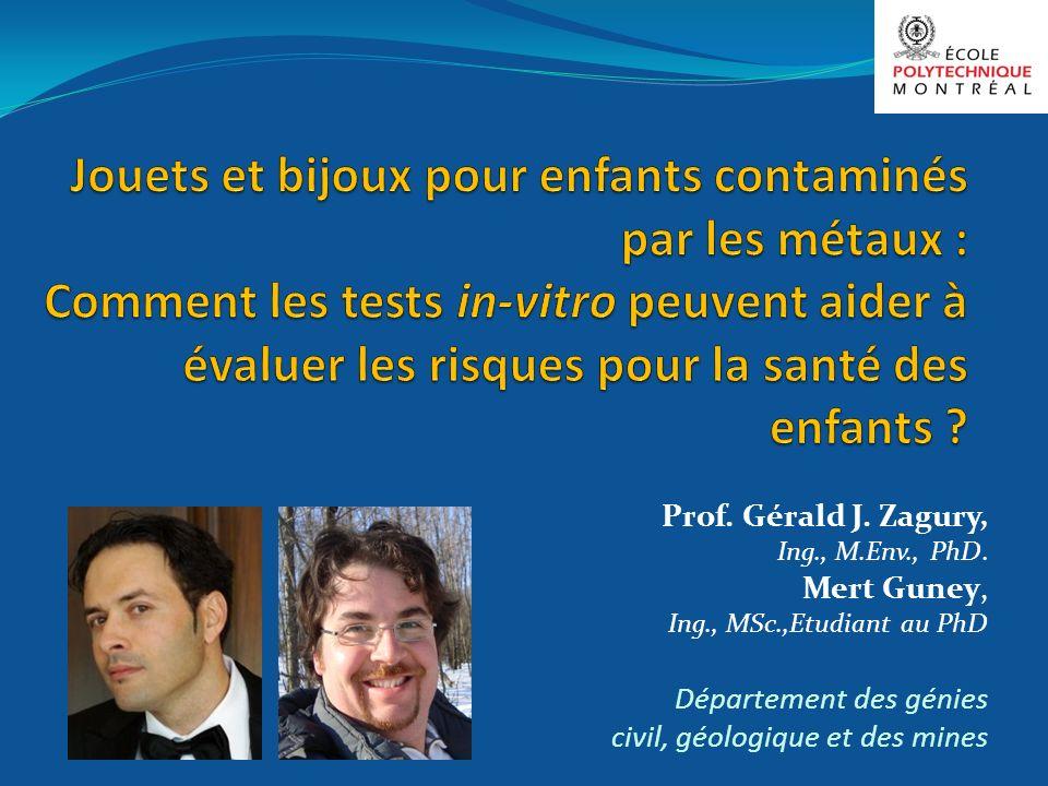 Jouets et bijoux pour enfants contaminés par les métaux : Comment les tests in-vitro peuvent aider à évaluer les risques pour la santé des enfants