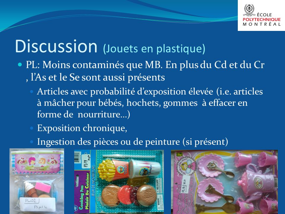 Discussion (Jouets en plastique)