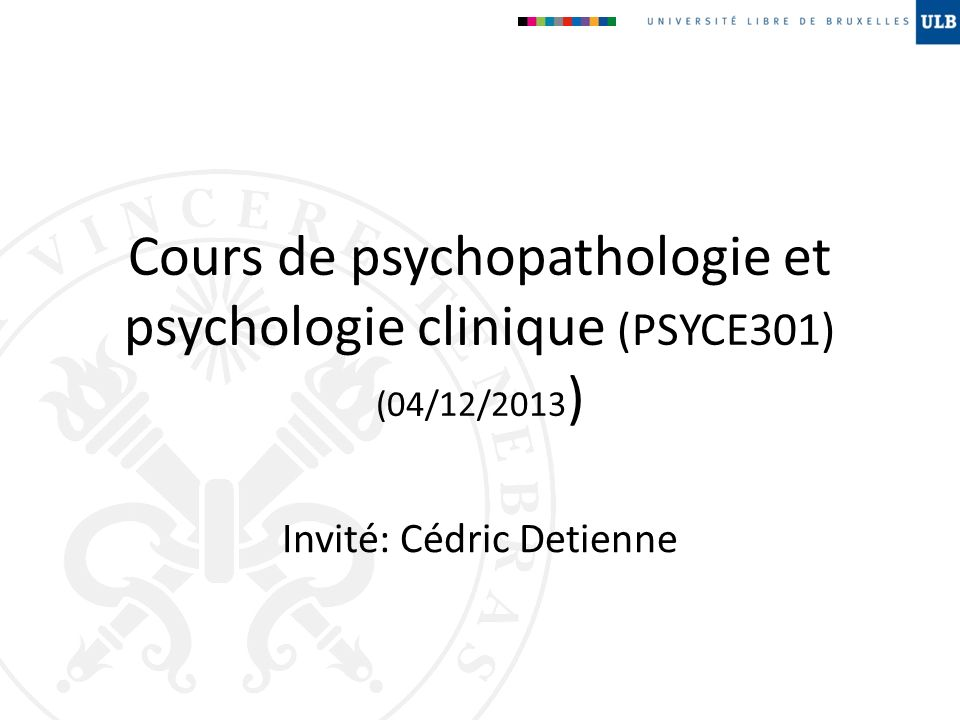 Invité: Cédric Detienne