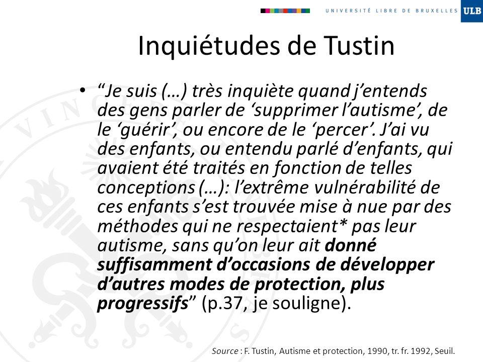 Inquiétudes de Tustin