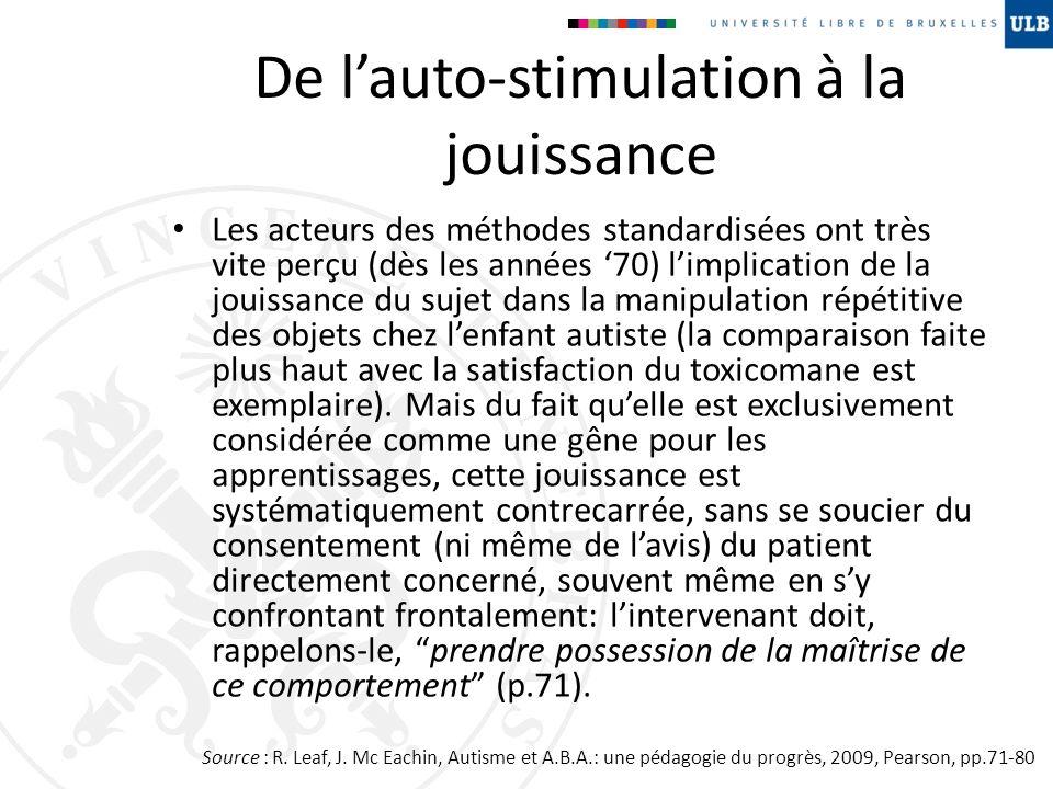 De l'auto-stimulation à la jouissance
