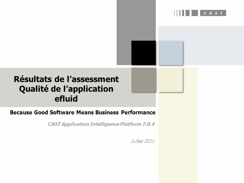 Because Good Software Means Business Performance