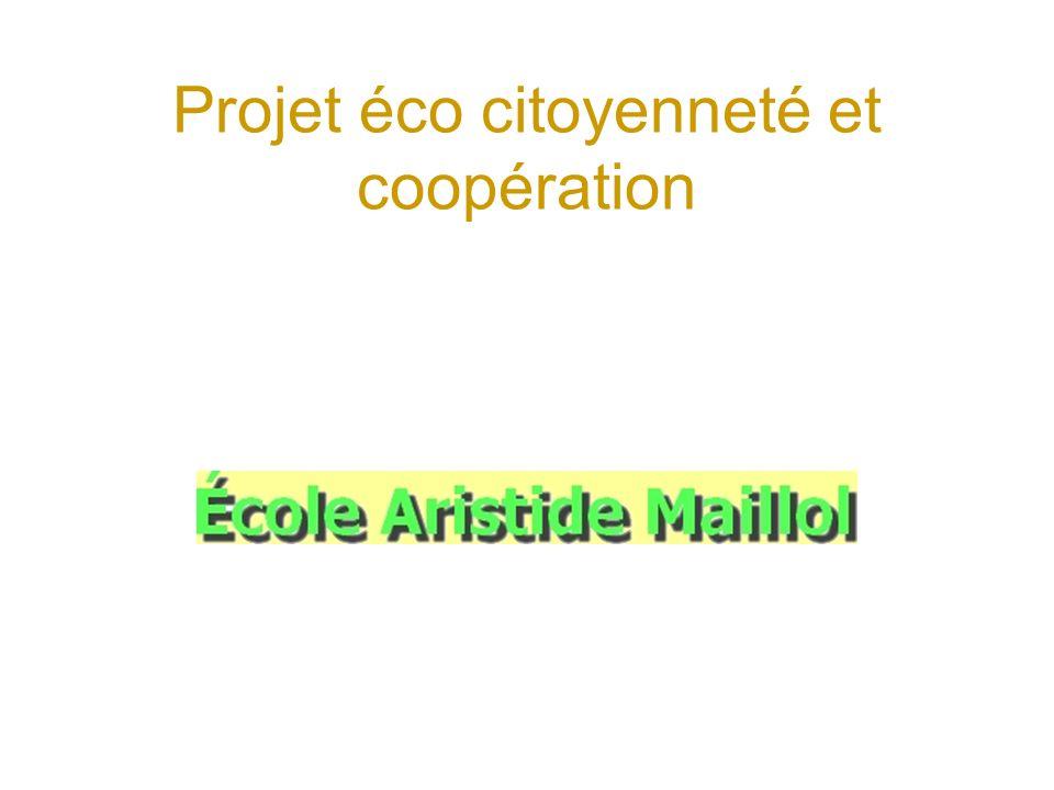 Projet éco citoyenneté et coopération