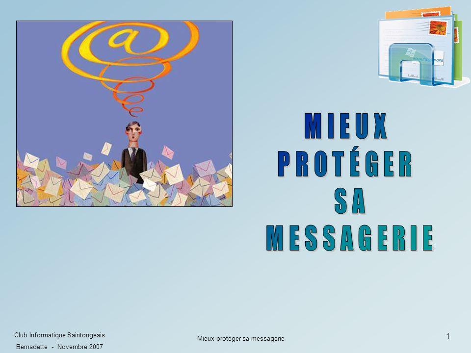 Mieux protéger sa messagerie