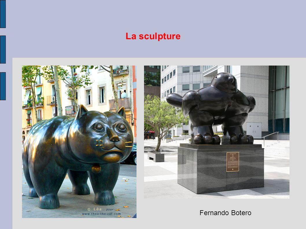 La sculpture Fernando Botero