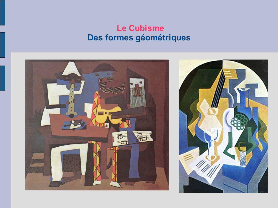 Le Cubisme Des formes géométriques