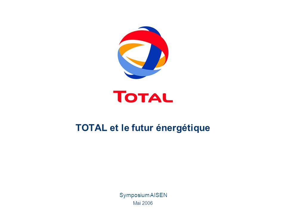 TOTAL et le futur énergétique