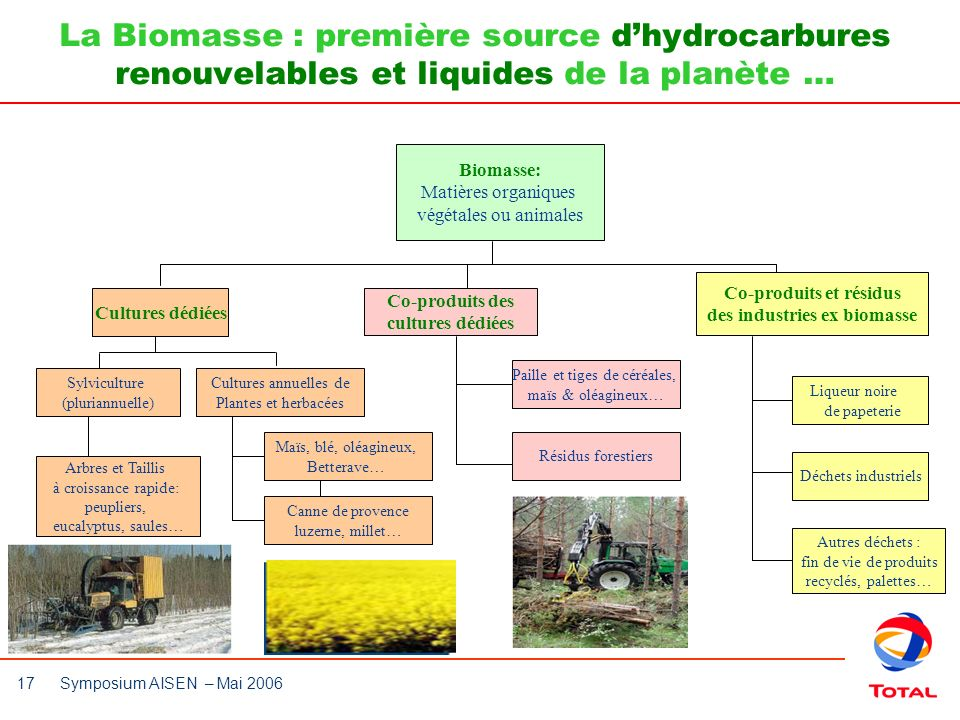 Co-produits et résidus des industries ex biomasse