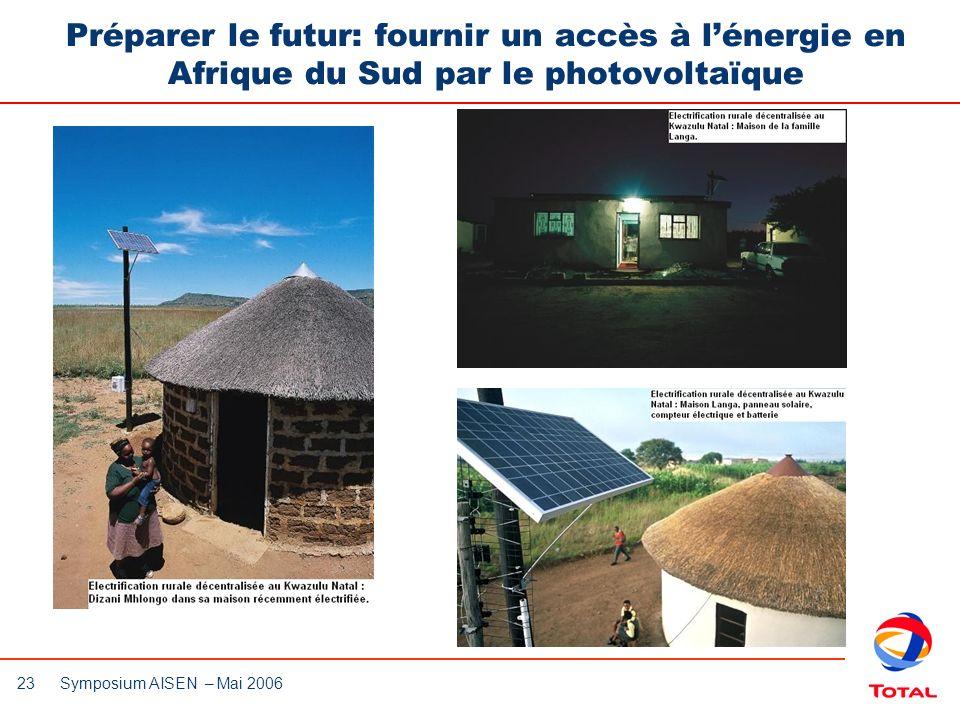 Préparer le futur: fournir un accès à l'énergie en Afrique du Sud par le photovoltaïque