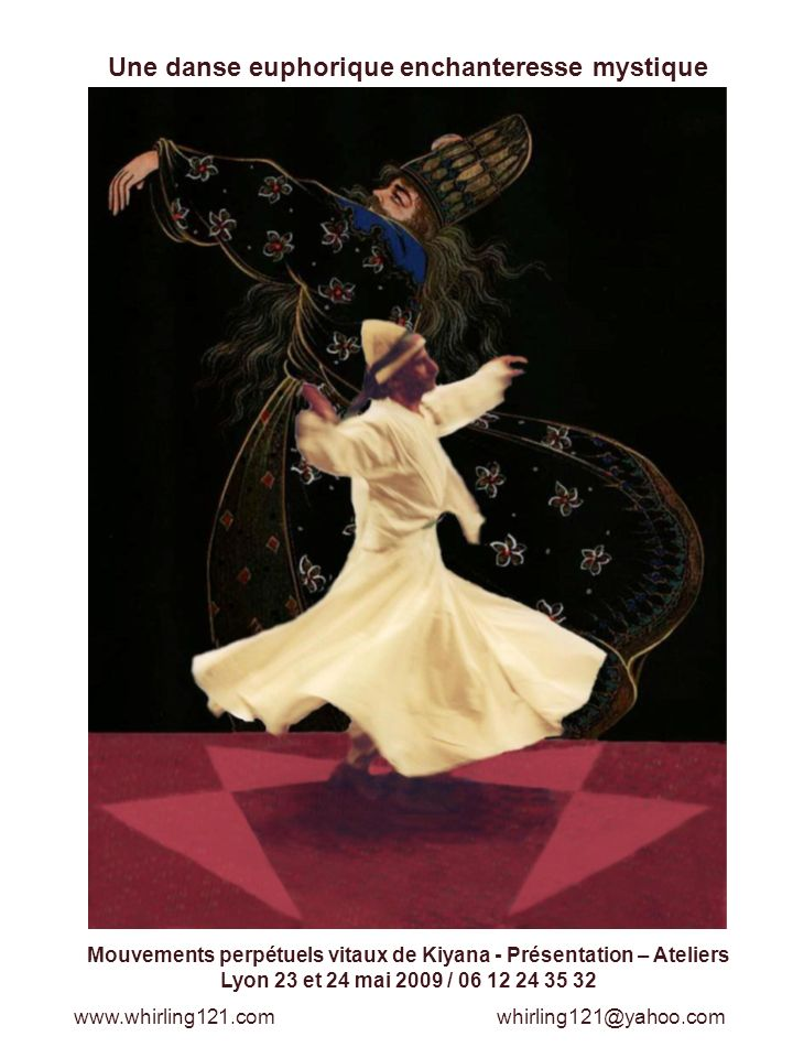 Une danse euphorique enchanteresse mystique