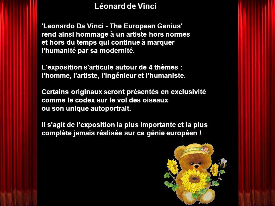 Léonard de Vinci Leonardo Da Vinci - The European Genius