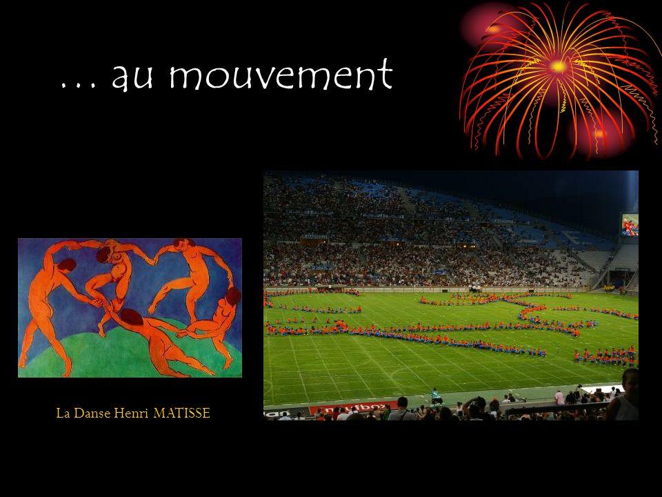 … au mouvement La Danse Henri MATISSE