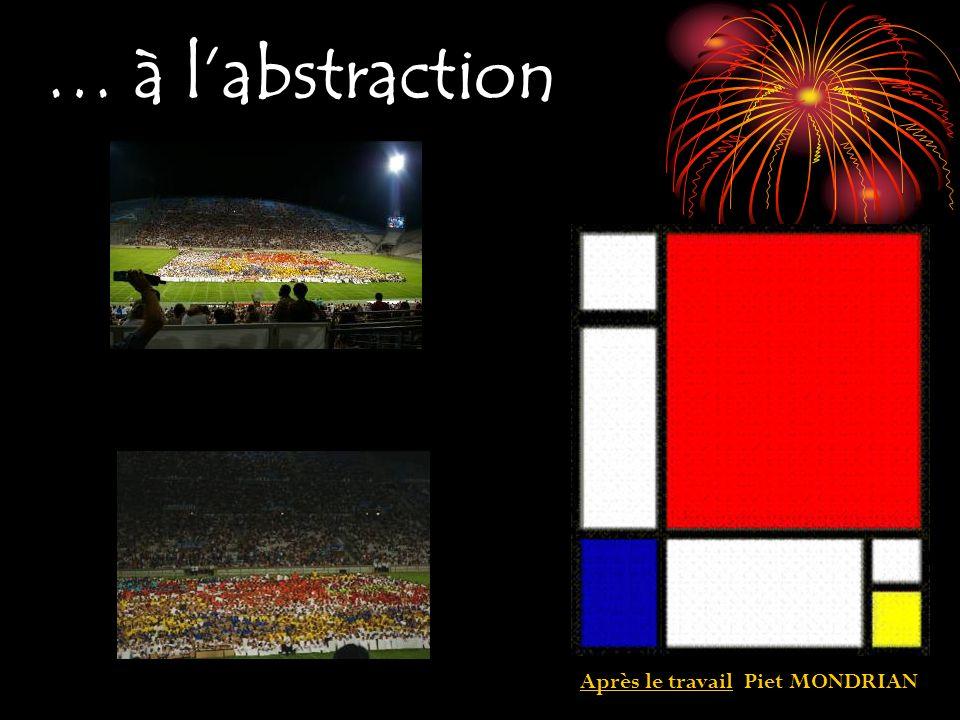 … à l'abstraction Après le travail Piet MONDRIAN