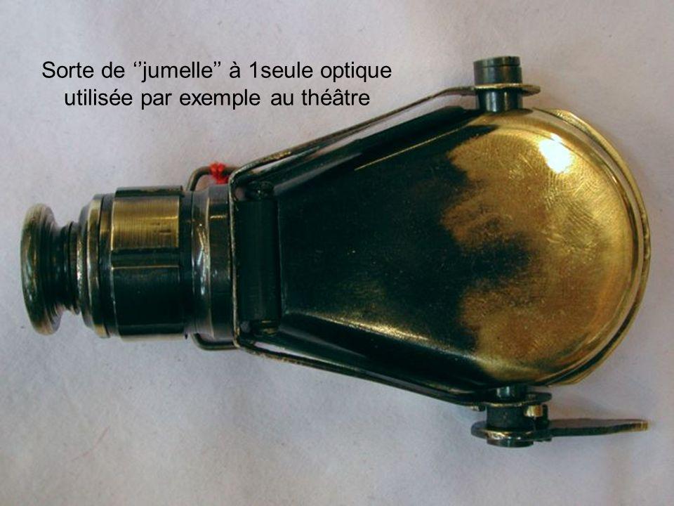 Sorte de ''jumelle'' à 1seule optique utilisée par exemple au théâtre