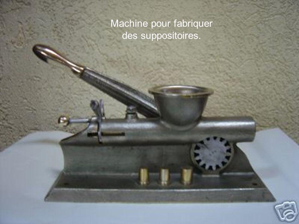 Machine pour fabriquer