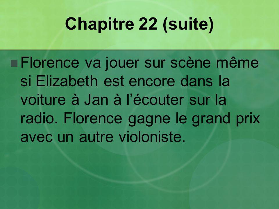 Chapitre 22 (suite)