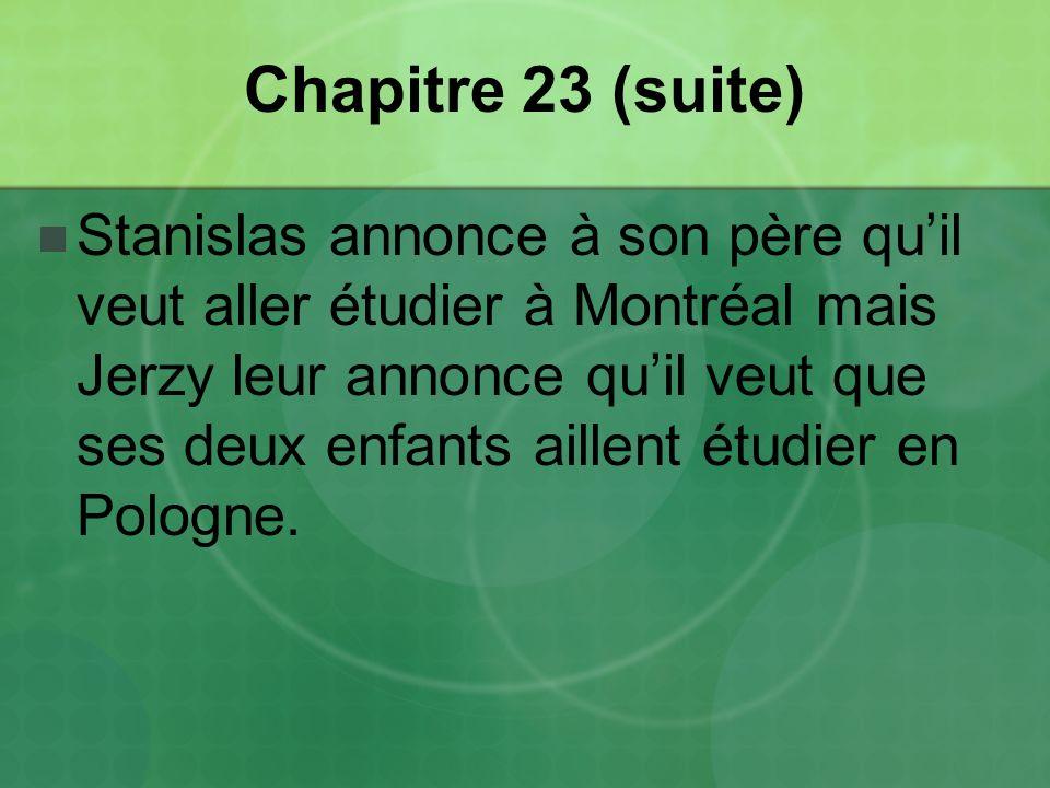 Chapitre 23 (suite)