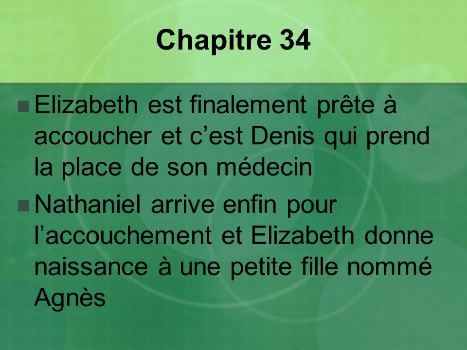 Chapitre 34 Elizabeth est finalement prête à accoucher et c'est Denis qui prend la place de son médecin.