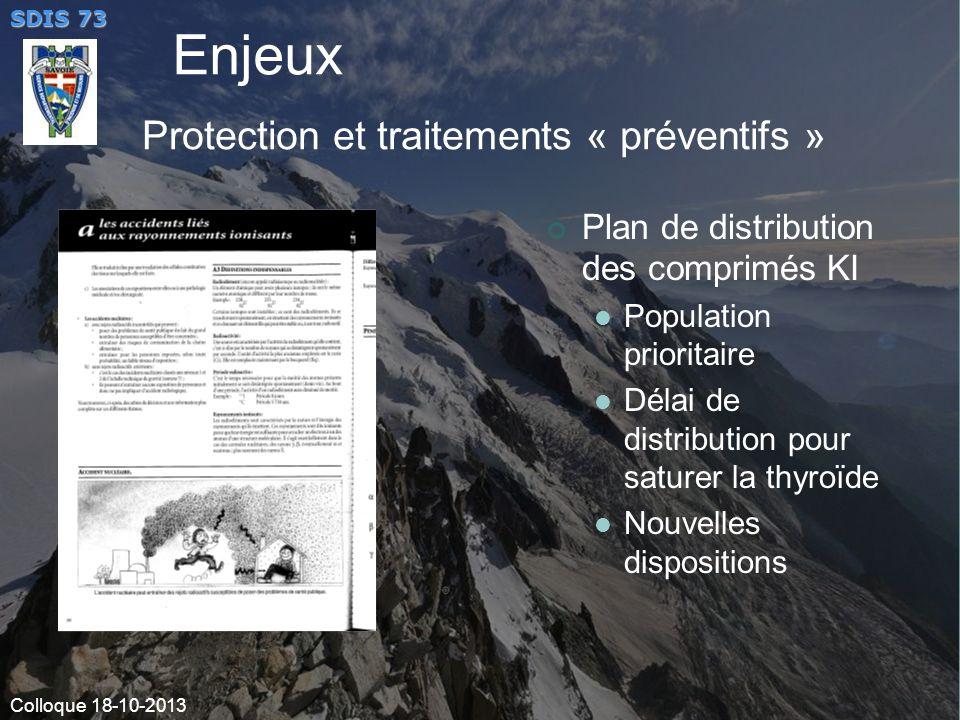 Enjeux Protection et traitements « préventifs »