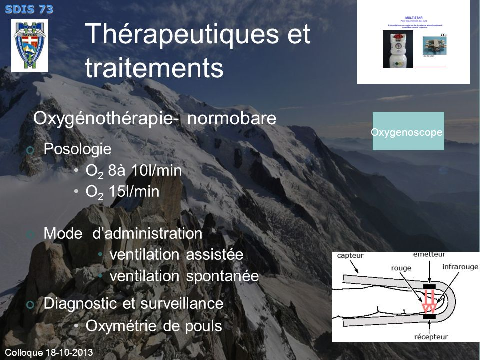 Oxygénothérapie- normobare