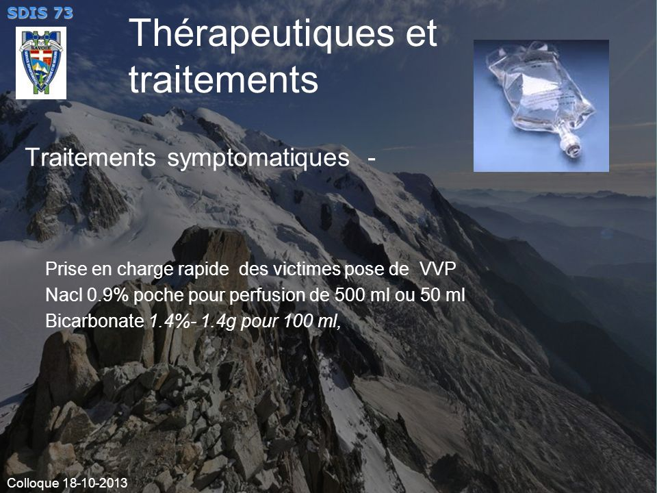 Traitements symptomatiques -