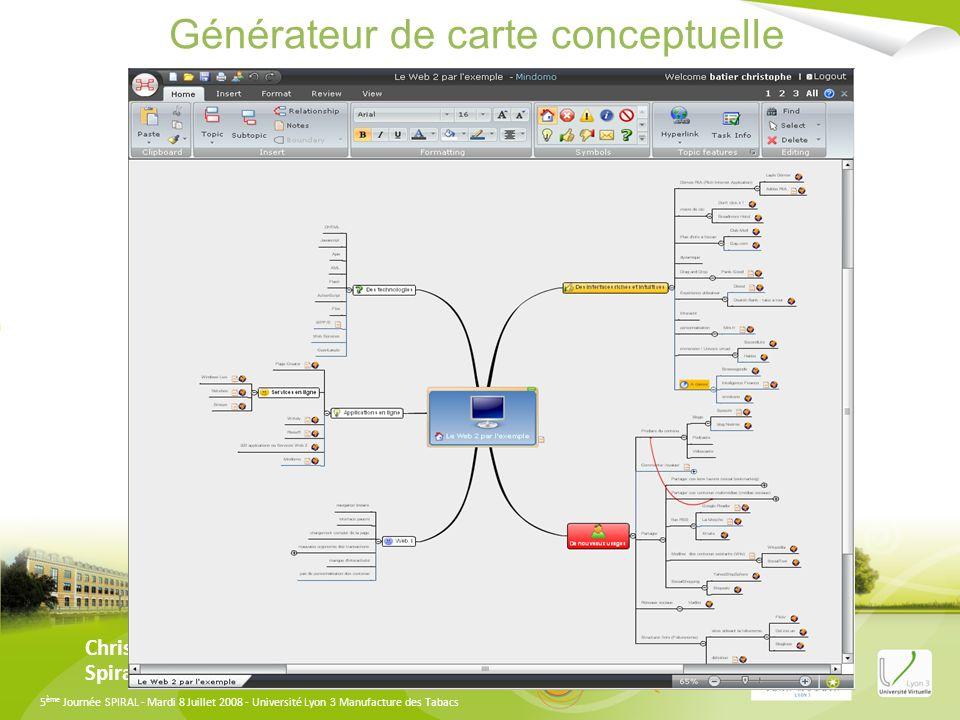 Générateur de carte conceptuelle