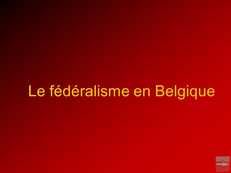 Le fédéralisme en Belgique