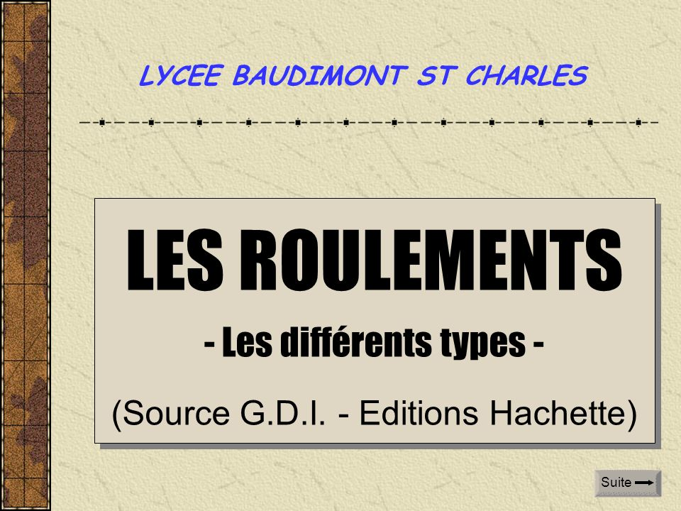 LYCEE BAUDIMONT ST CHARLES