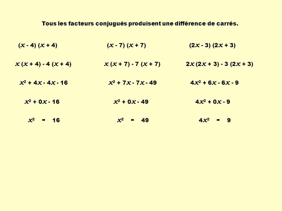 x (x + 4) - 4 (x + 4) x (x + 7) - 7 (x + 7) x2 + 4x - 4x - 16