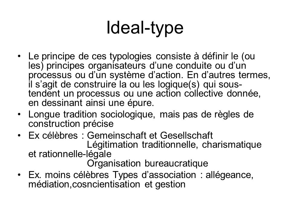 Ideal-type