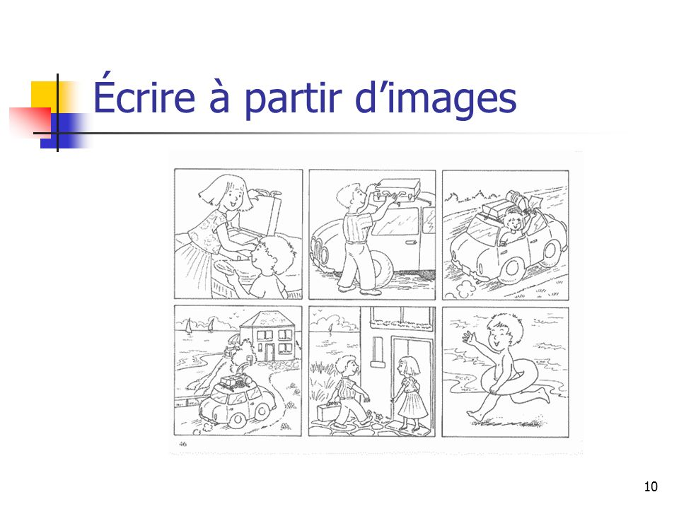 Écrire à partir d'images