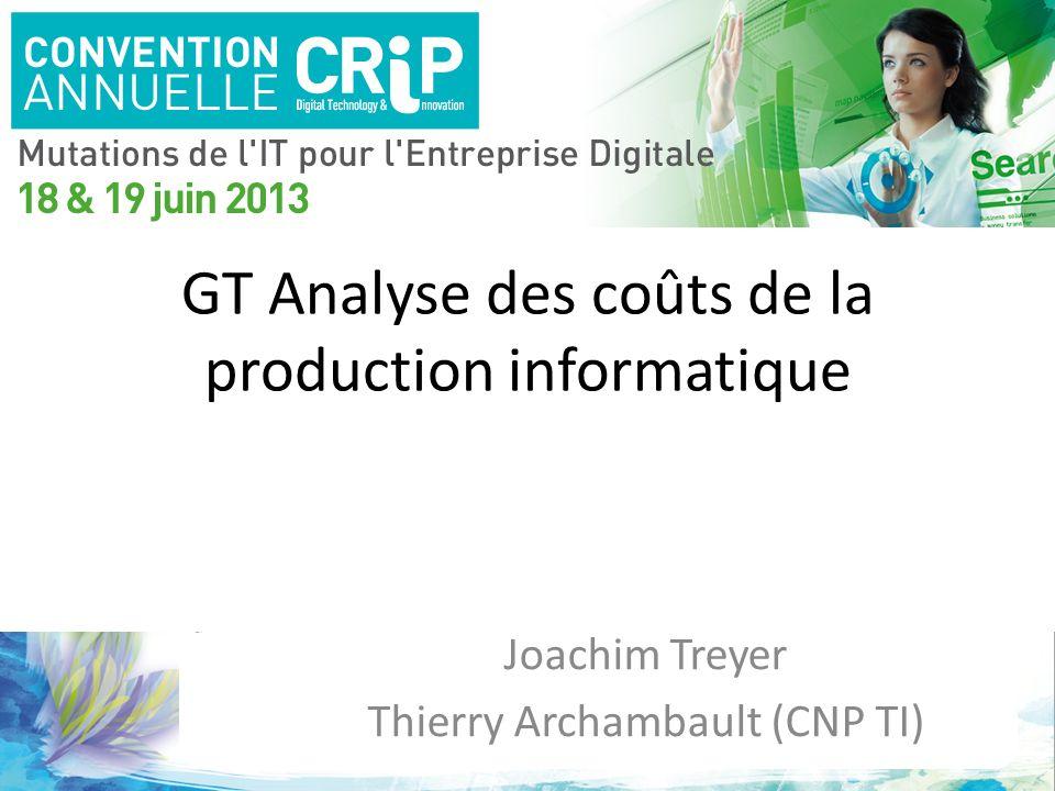 GT Analyse des coûts de la production informatique